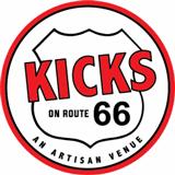 Kicks on Route 66 Logo